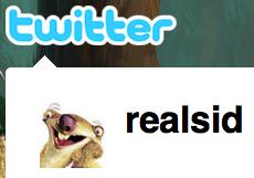 realsid on Twitter